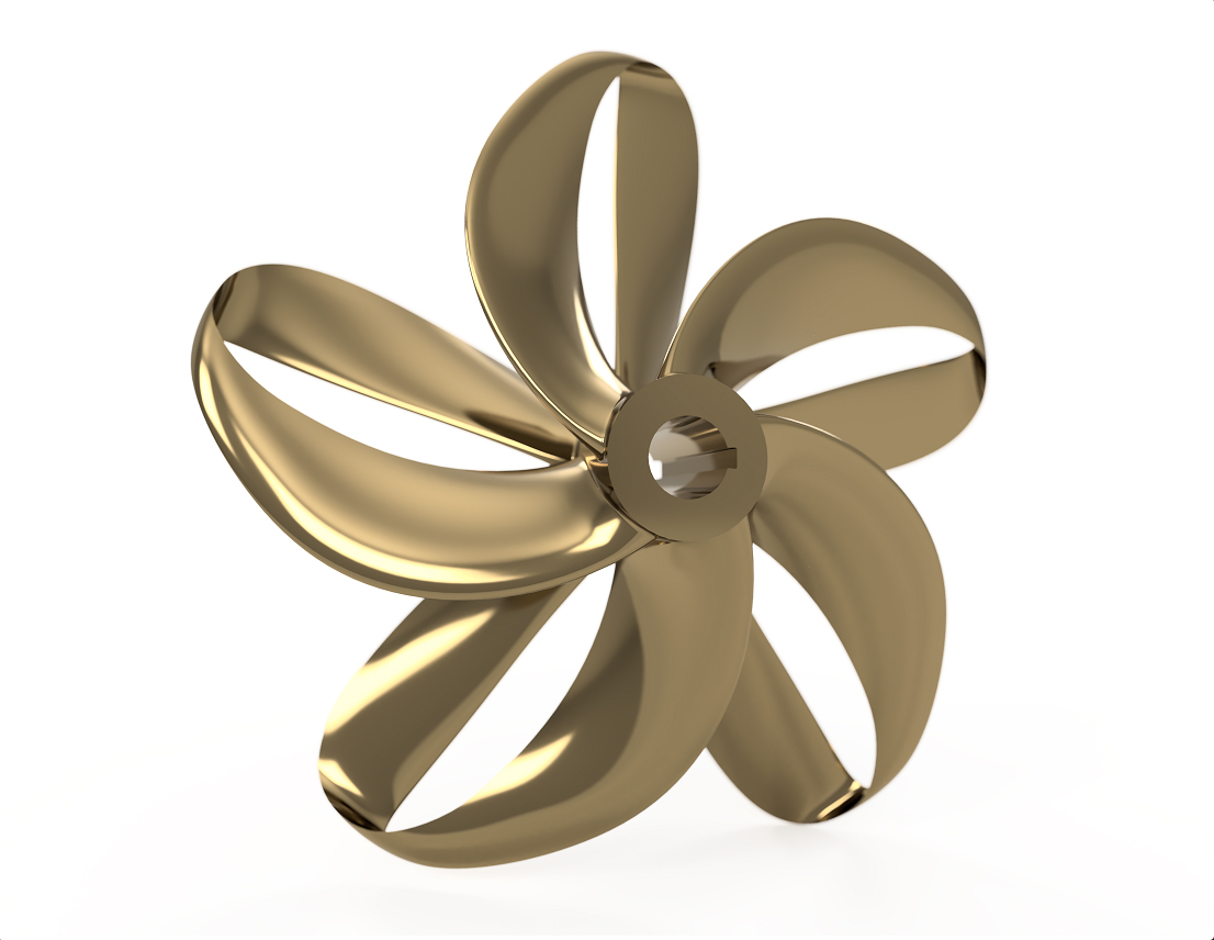 New High Efficiency Propeller by Sharrow Engineering